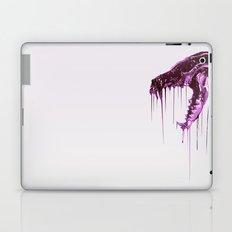 Painted Skull Purple Laptop & iPad Skin