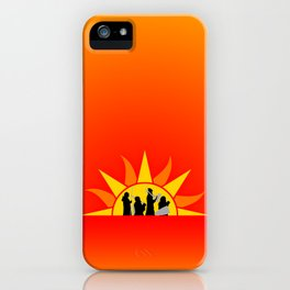 The Marching Dawn iPhone Case