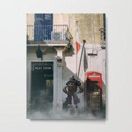 Future Police Metal Print