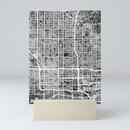 Phoenix Arizona City Map Mini Art Print