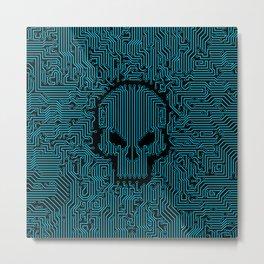 Bad Circuit Metal Print
