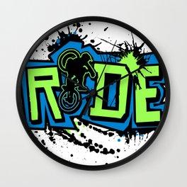 Ride Colors Wall Clock