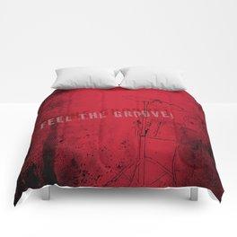 FEEL THE GOOVE! Comforters