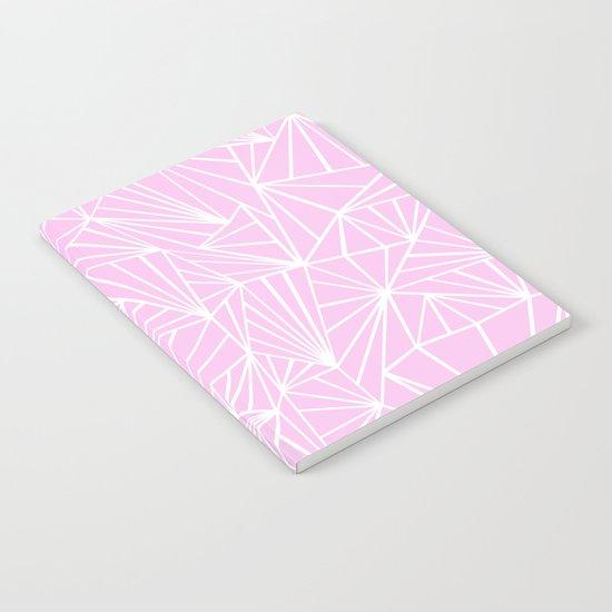 Ab Fan Pink Notebook