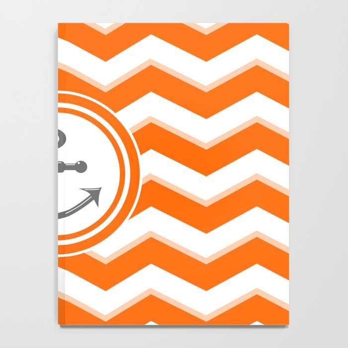 Chevron Anchor Notebook