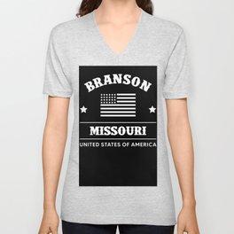 Branson Missouri USA Unisex V-Neck