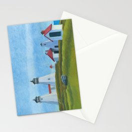 Plymouth Lighthouse Stationery Cards