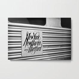Silver Pullman Car Metal Print