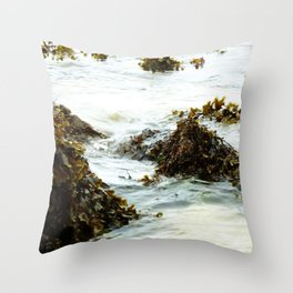 Seaweed Pods Throw Pillow
