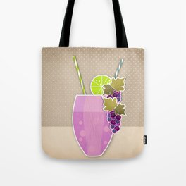 """Picture. The grape juice. From a set of paintings. The """"kitchen"""". Tote Bag"""