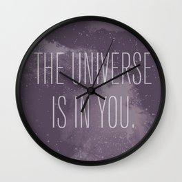Forged in the Stars Wall Clock