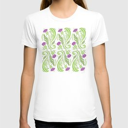Thistles - Color PAttern T-shirt