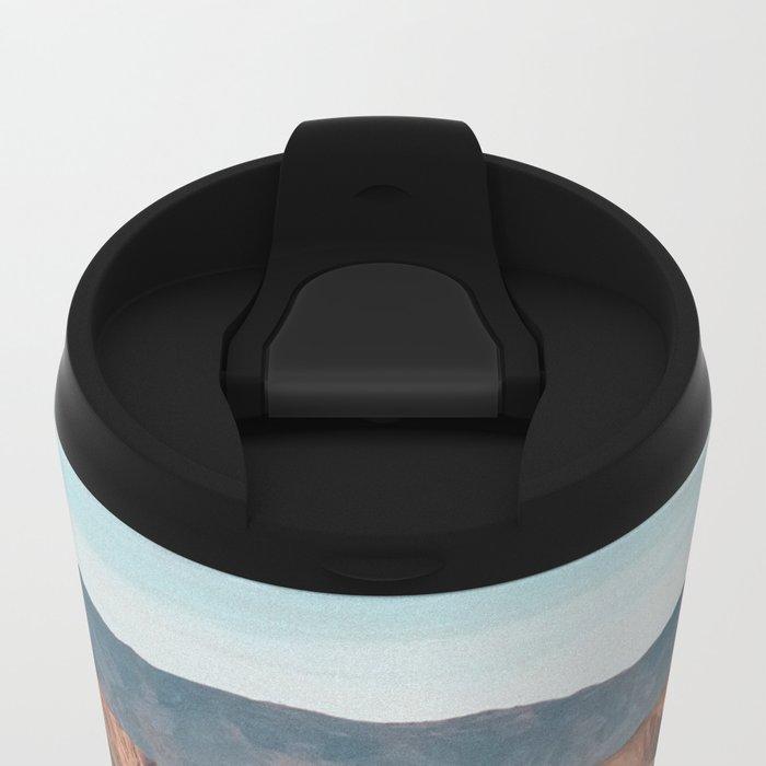once rain Metal Travel Mug