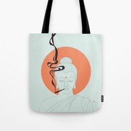 Buddha : Give Peace a Chance! Tote Bag