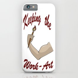 Keeping the Work-Art iPhone Case