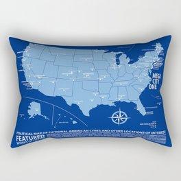 All-American Fiction Rectangular Pillow