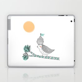Adventure cake bird Laptop & iPad Skin