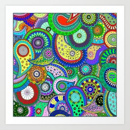 Colors Galore Art Print