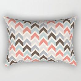 Mod Hues Chevron Rectangular Pillow