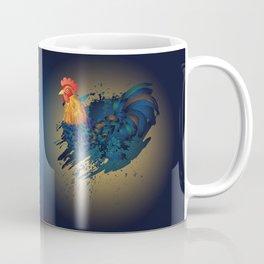 Grunge Rooster Coffee Mug