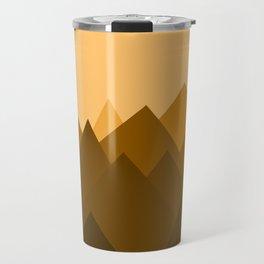 Abstract Sand Dunes Travel Mug