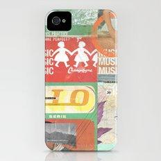 Music, Music, Music Slim Case iPhone (4, 4s)
