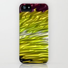 Squalling Harpoon Fractal Design 8 iPhone Case