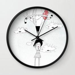 D R E A M S Wall Clock