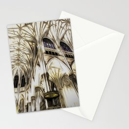 Cathedral Architecture Art Stationery Cards
