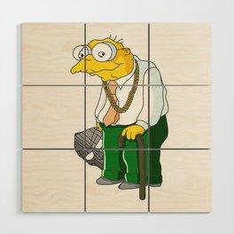 MF Moleman Wood Wall Art