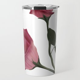 Mystical Maroon Rose Travel Mug