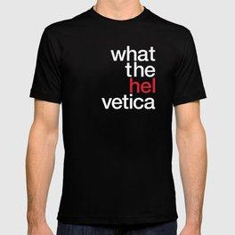 Hel Vetica T-shirt