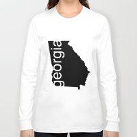 georgia Long Sleeve T-shirts featuring Georgia by Isabel Moreno-Garcia