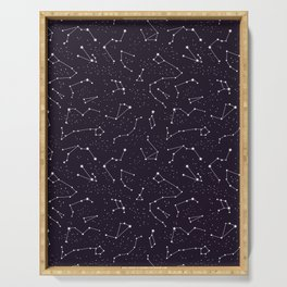 constellations pattern Serving Tray