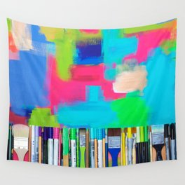 Real Weapons Of Mass Creation Wall Tapestry
