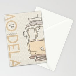 Trams of the world - Lisbon Stationery Cards