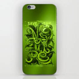 Save The Nature iPhone Skin