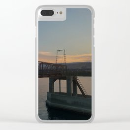 Columbia riverside Clear iPhone Case