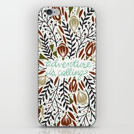 Adventure is Calling – Earth Palette iPhone Skin
