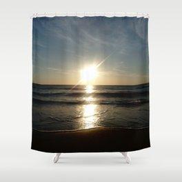 Oceanic landscape: Lacanau  10 Shower Curtain