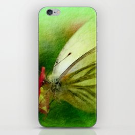 Butterfly's inn version 2 iPhone Skin
