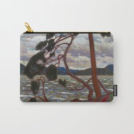 Tom Thomson - The West Wind - Canada, Canadian Oil Painting - Group of Seven Carry-All Pouch