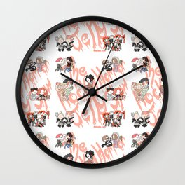 Rocky Horror Jelly Show Wall Clock