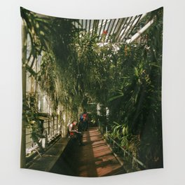 Over Grown Hallway Wall Tapestry