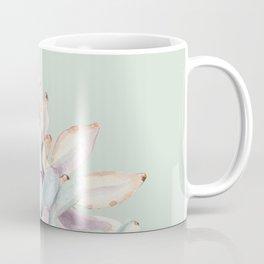Beautiful Mint Succulents Coffee Mug