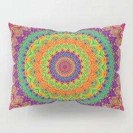 Mandala 458 (NEON) Pillow Sham