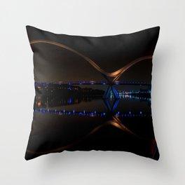 Infinity Night Walk Throw Pillow