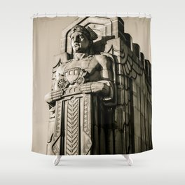 TITAN 2 Shower Curtain