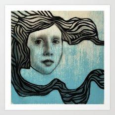 #43 Wave Art Print