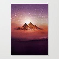 Station Pyramid Canvas Print